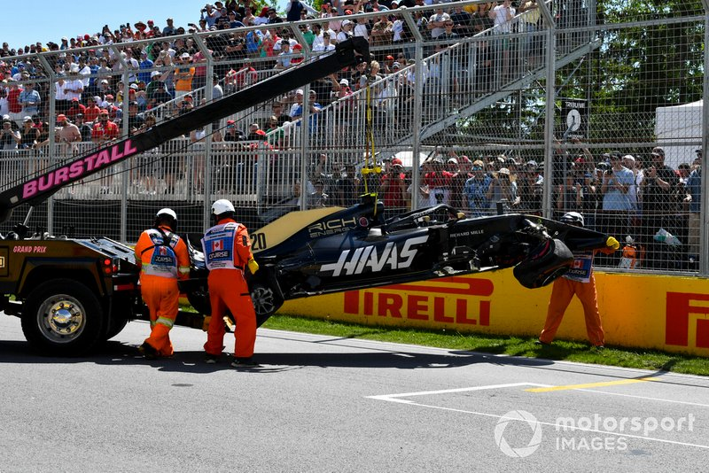 Kevin Magnussen - Clasificación GP de Canadá