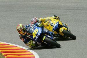 Valentino Rossi, Yamaha Factory Team, Makoto Tamada, Honda