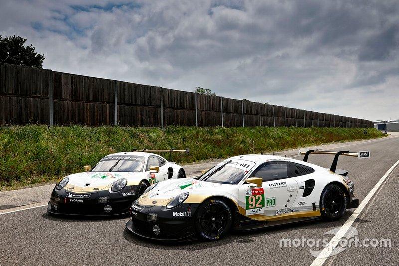 #92 en #91 Porsche 911 RSR
