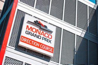 Monaco track signs