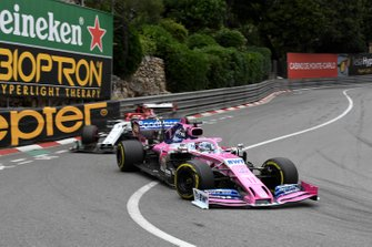 Sergio Perez, Racing Point RP19, Kimi Raikkonen, Alfa Romeo Racing C38