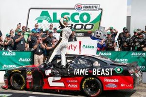Race Winner Tyler Reddick, Richard Childress Racing, Chevrolet Camaro TAME the BEAST