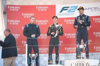 Podium: second place Jack Aitken, Campos Racing