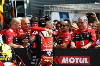 Alvaro Bautista, Aruba.it Racing-Ducati Team, troisième