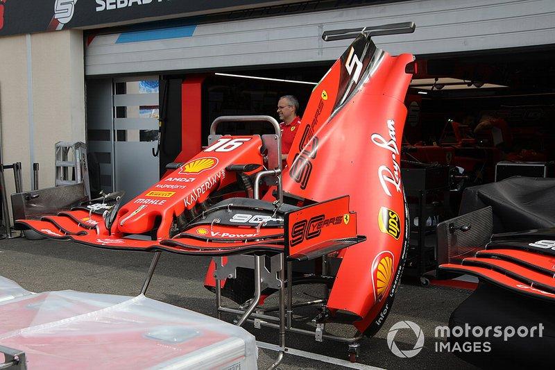 Carrocería del Ferrari SF90