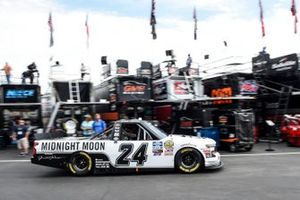 Brett Moffitt, GMS Racing, Chevrolet Silverado Junior Johnson Midnight Moon Moonshine