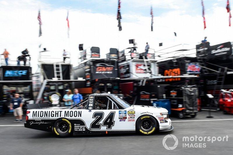 Brett Moffitt, GMS Racing, Chevrolet Silverado Junior Johnson Midnight Moon Moonshine