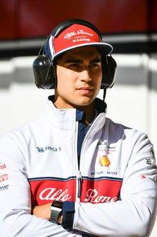 Juan Manuel Correa, Alfa Romeo Racing