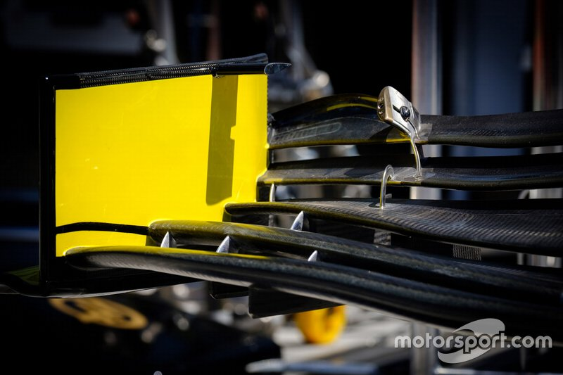 Renault F1 Team R.S. 19 front wing detail
