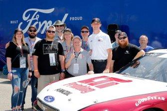 Austin Cindric, Team Penske, Ford Mustang LTi Printing