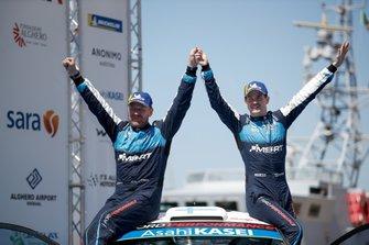 Podium : Teemu Suninen, Jarmo Lehtinen, M-Sport Ford WRT Ford Fiesta WRC