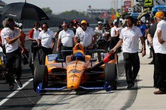 Fernando Alonso, McLaren Racing Chevrolet