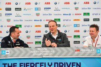 Allan McNish, Team Principal, Audi Sport Abt Schaeffler, Roger Griffiths, BMW I Andretti Motorsport, Ulrich Fritz, CEO of HWA AG