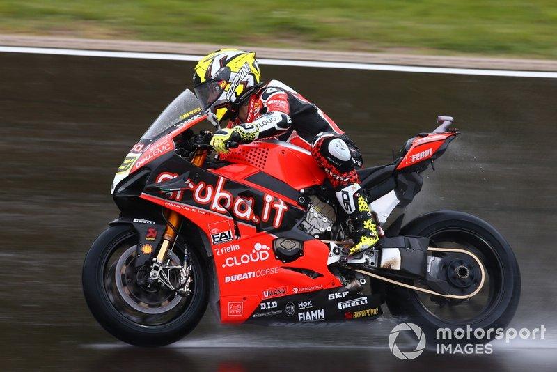 Álvaro Bautista, vuelta de evaluación del equipo Aruba.it Racing-Ducati Team