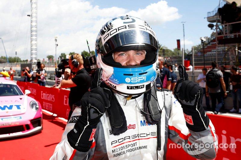 Il vincitore della gara Julien Andlauer, BWT Lechner Racing