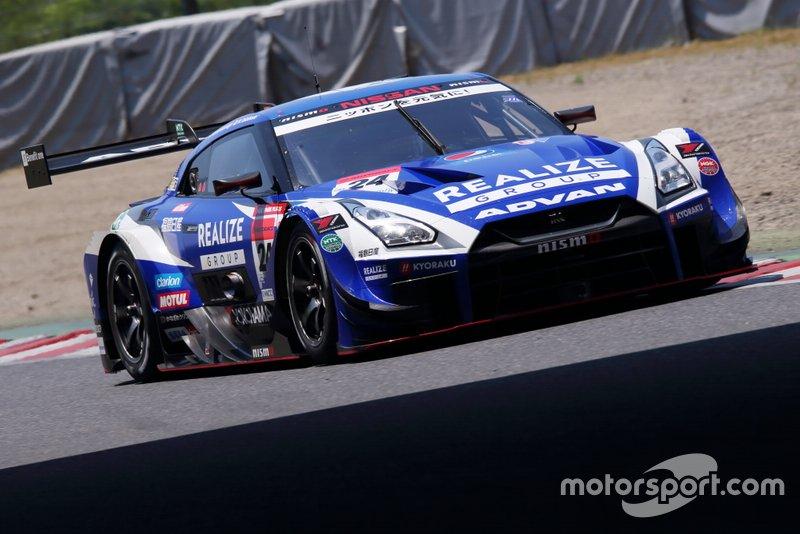 #24 Kondo Racing Nissan GT-R: Mitsunori Takaboshi, Jann Mardenborough