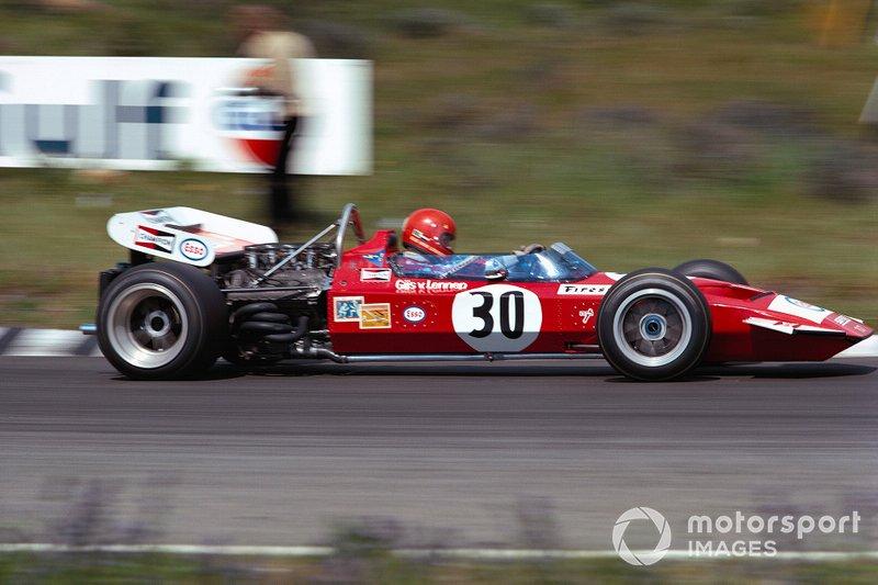 Zandvoort 1971: Gijs van Lennep in de gehuurde Surtees