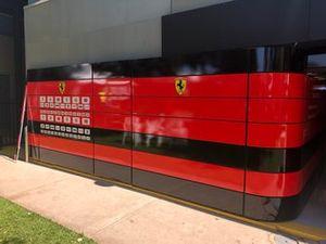 Hospitality Scuderia Ferrari