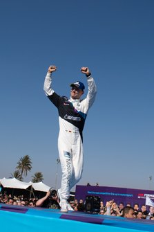 Maximilian Günther, BMW I Andretti Motorsports, 2nd position, on the podium