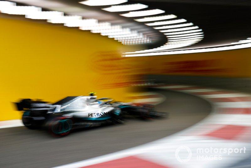 20 место: Валттери Боттас, Mercedes - 1:34.973