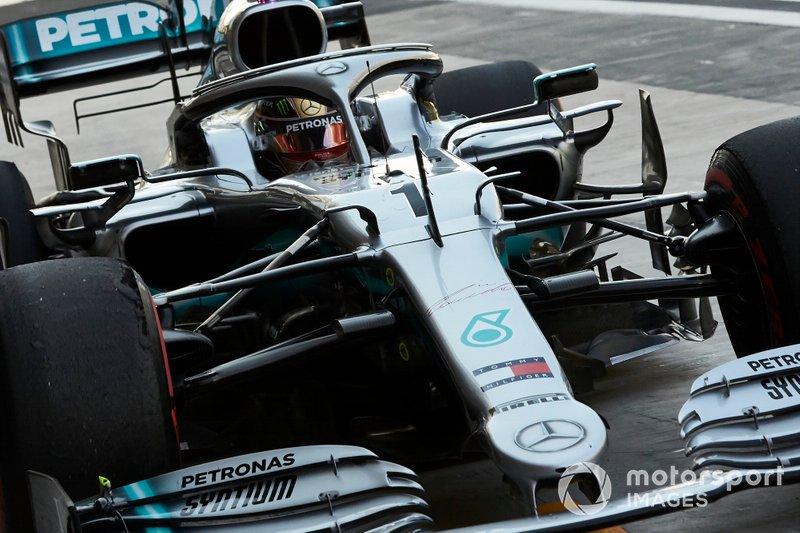 Mercedes – победа у Хэмилтона