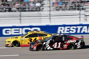 Michael McDowell, Front Row Motorsports, Ford Mustang Love's Travel Stops, Cole Custer, Stewart-Haas Racing, Ford Mustang Production Alliance Group/Haas