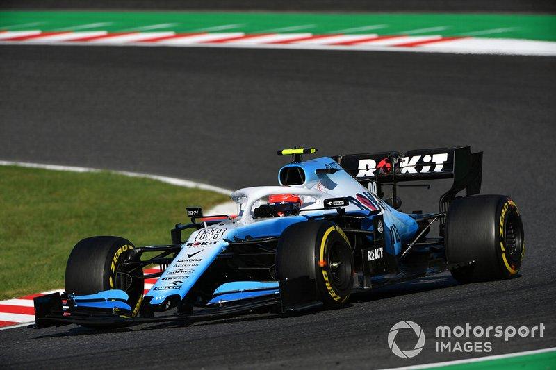 Robert Kubica, Williams FW42 (wyścig)