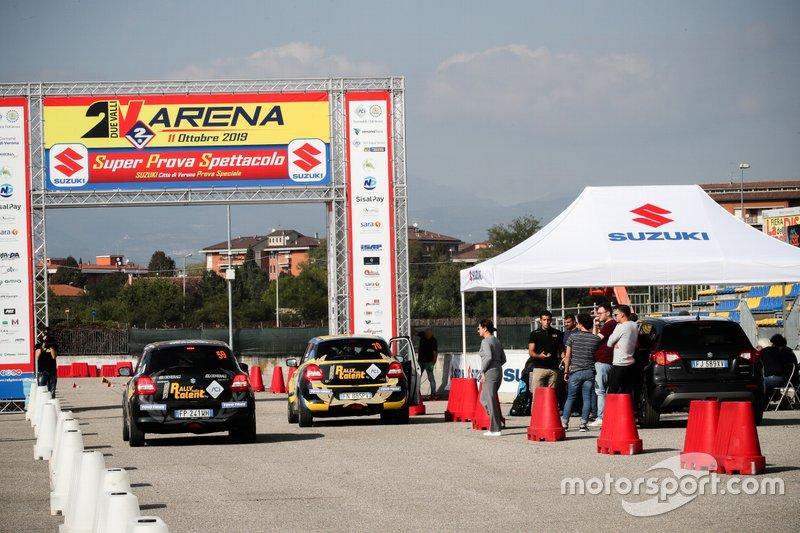 Luca Insalata, Lorenzo Lamanda, Suzuki Swift Sport e Marco Betti, Nicolò Lazzarini, Suzuki Swift Sport