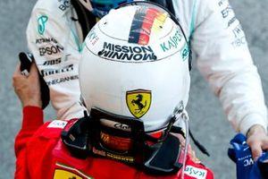 Helm van Sebastian Vettel, Ferrari