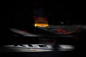 Sheet on Red Bull Racing RB15 front wing