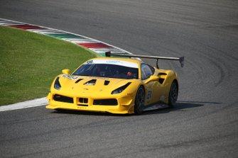 #224 Ferrari 488 Challenge, Boardwalk Ferrari: Zlad Ghandour