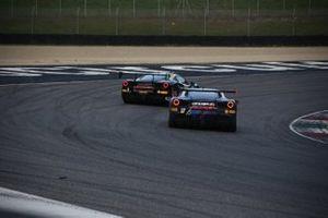 #3 Ferrari 488 Challenge, Rossocorsa: Niccolo Schiro, #17 Ferrari 488 Challenge, Formula Racing: Louis Prette