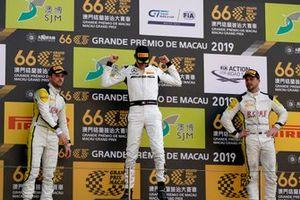 Podium: Race winner #999 Mercedes-AMG Team GruppeM Racing Mercedes AMG GT3: Raffaele Marciello, second place #99 ROWE Racing Porsche 911 GT3 R: Laurens Vanthoor, third place #98 ROWE Racing Porsche 911 GT3 R: Earl Bamber