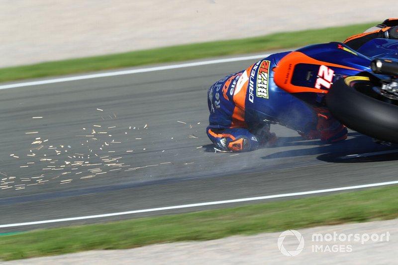 Marco Bezzecchi, Tech 3 crash