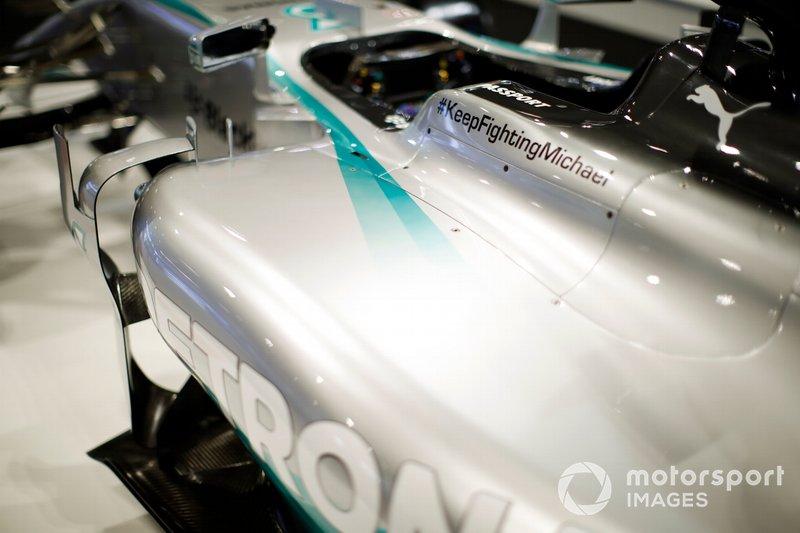 Detalle del AMG Mercedes-Benz de Lewis Hamiltons