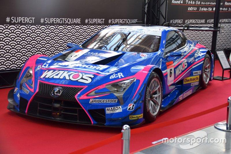 #6 WAKO'S 4CR LC500