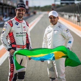 Lucas di Grassi e Felipe Massa