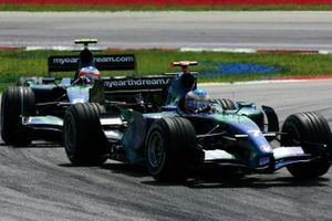Jenson Button, Honda Racing, Rubens Barrichello, Honda Racing