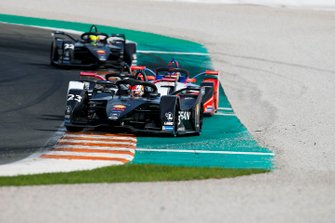 Sébastien Buemi, Nissan e.Dams, Nissan IMO2 Andre Lotterer, Porsche, Porsche 99x Electric, Pascal Wehrlein, Mahindra Racing, M6Electro