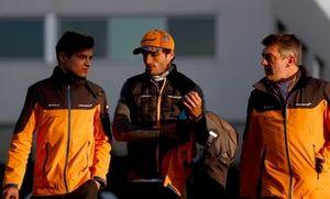Lando Norris, McLaren, and Carlos Sainz Jr., McLaren