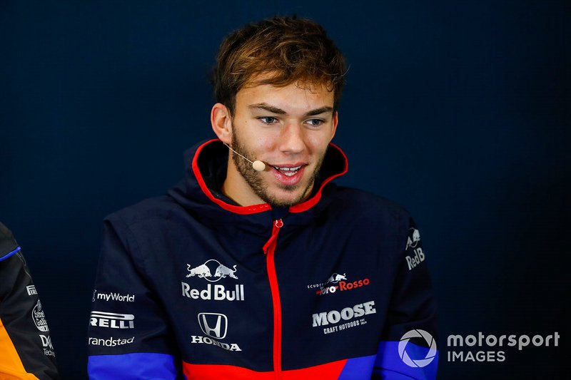 Conferenza stampa, Pierre Gasly, Toro Rosso