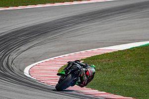 Franco Morbidelli, Petronas Yamaha SRT, Sliding, smoke