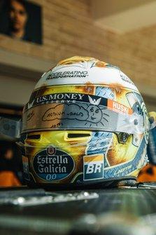 Шлем Ландо Норриса, McLaren