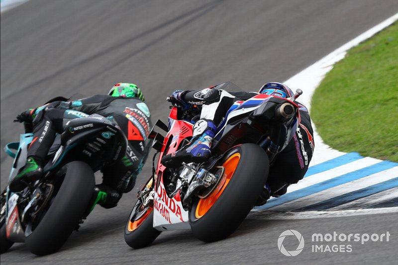 Franco Morbidelli, Petronas Yamaha SRT, Alex Márquez, Repsol Honda Team