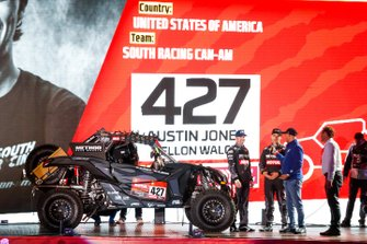 Остин Джонс и Келлон Уолч, South Racing Can-Am, Can-Am Maverick (№427)