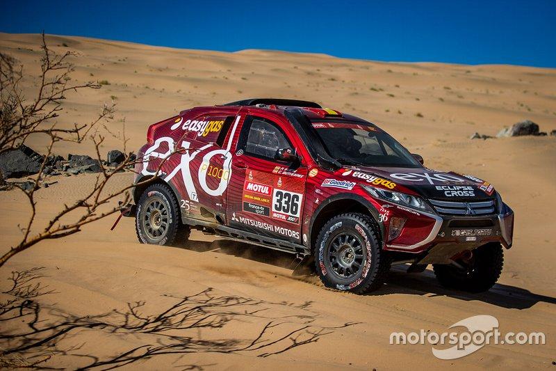 #336 Sodicars Racing Mitsubushi: Cristina Gutierrez Herrero, Pablo Moreno Huete