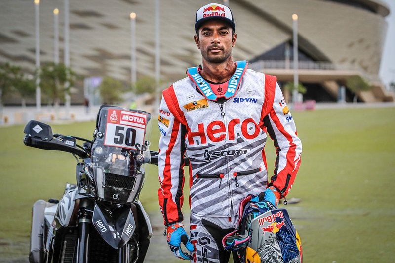 #50 Hero Motosports Team Rally: CS Santosh
