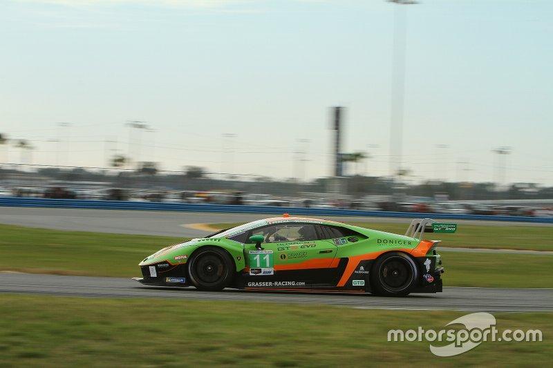 #11 GRT Grasser Racing Team Lamborghini Huracan GT3: Richard Heistand, Steijn Schothorst, Albert Costa