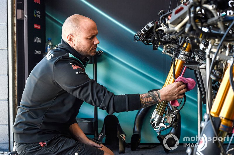 SIC Racing Team mechanic
