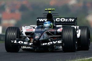 Chanoch Nissany, Minardi, al GP d'Ungheria del 2005